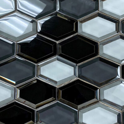 Reflection Grey Scheme Hexagon