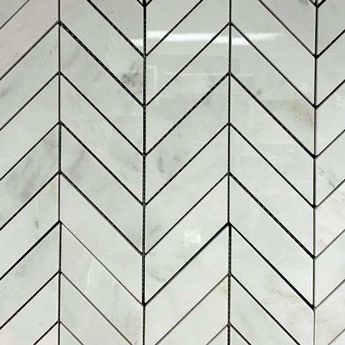 Marble-Chevron-Oriental-White